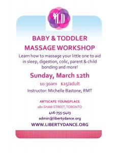 Baby & Toddler Massage Workshop