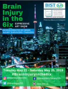 Brain Injury Society in Toronto Promotional Graphic
