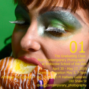 Poster for Etobicoke School of the Arts Contemporary Photography Grade 12 Graduation Show