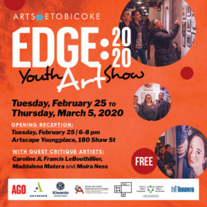 Arts Etobicoke EDGE 2020
