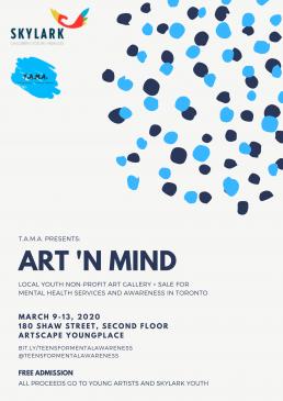 Art 'n Mind Event Poster